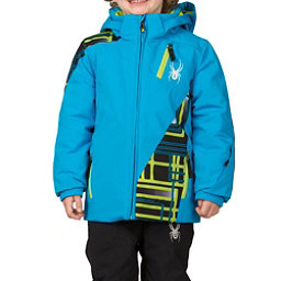 Spyder Mini Enforcer Toddler Ski Jacket (Previous Season), Electric Blue-Electric Blue-Th, 256