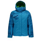Spyder Dreamer Girls Ski Jacket (Previous Season), Riviera-Riviera Check Plaid Pr, medium
