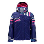 Spyder Dreamer Girls Ski Jacket (Previous Season), Evening-Evening Vybe Print-Bry, medium