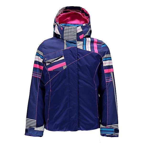 Spyder Dreamer Girls Ski Jacket (Previous Season), Evening-Evening Vybe Print-Bry, 600