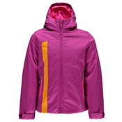 Spyder Dreamer Girls Ski Jacket (Previous Season), Wild-Bryte Bubblegum-Edge, medium