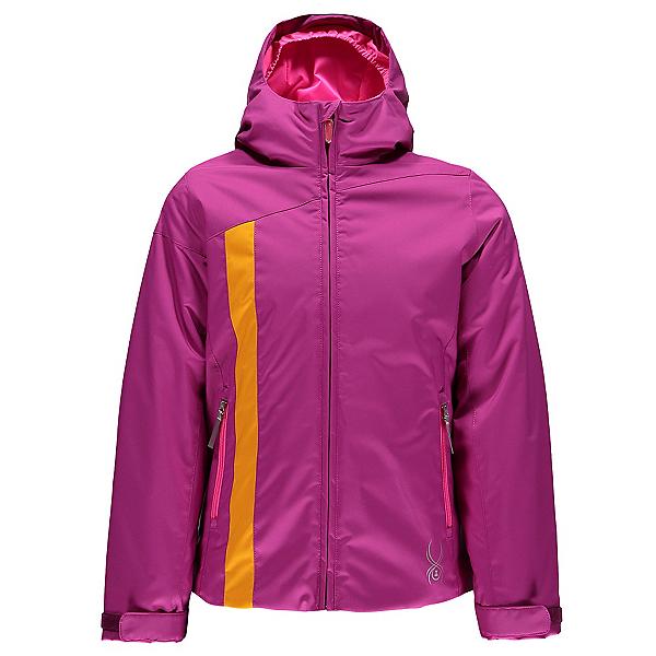 Spyder Dreamer Girls Ski Jacket (Previous Season), Wild-Bryte Bubblegum-Edge, 600