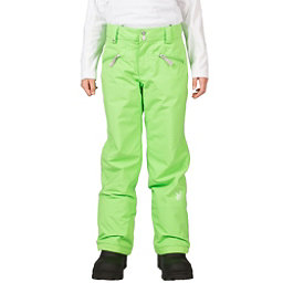 Spyder Vixen Tailored Girls Ski Pants (Previous Season), Green Flash, 256