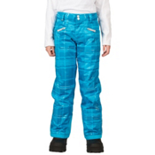 Spyder Vixen Tailored Girls Ski Pants (Previous Season), Riviera Check Plaid Print, medium
