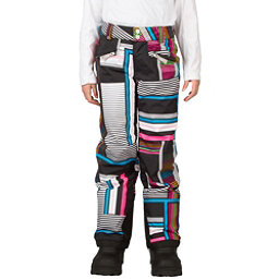 Spyder Vixen Tailored Girls Ski Pants (Previous Season), Black Vybe Print, 256