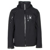 Spyder Squaw Valley Mens Insulated Ski Jacket (Previous Season), Black-Polar-Polar, medium