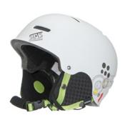 Sims Lefty Audio Helmet, White, medium