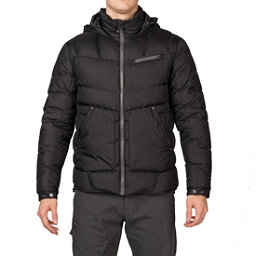 Spyder Stance Hoody Mens Down Jacket (Previous Season), Black-Polar, 256