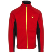 Spyder Core Constant Tailored Mens Sweater (Previous Season), Volcano-Black-Bryte Yellow, medium