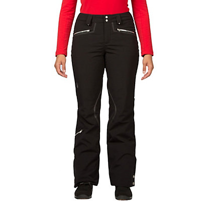 Spyder ME Tailored Fit Long Womens Ski Pants (Previous Season), Black, viewer