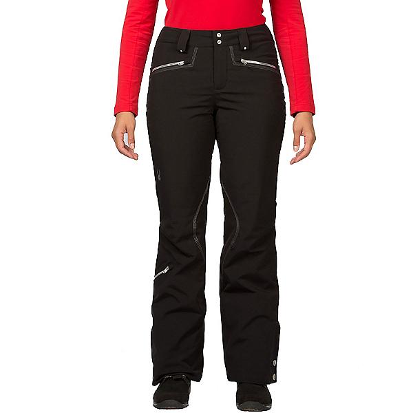 Spyder ME Tailored Fit Short Womens Ski Pants (Previous Season), Black, 600