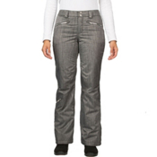 Spyder ME Tailored Fit Short Womens Ski Pants (Previous Season), Black Linen Fabric, medium