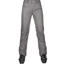 Spyder ME Tailored Fit Short Womens Ski Pants (Previous Season), Graystone Crosshatch, 256