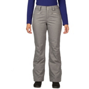 Spyder ME Tailored Fit Short Womens Ski Pants (Previous Season), Graystone Tech Flannel, medium