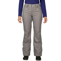 Spyder ME Tailored Fit Short Womens Ski Pants (Previous Season), Graystone Tech Flannel, 256