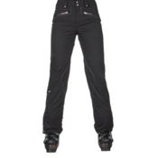 Spyder ME Tailored Fit Short Womens Ski Pants (Previous Season), Black Tech Flannel, medium