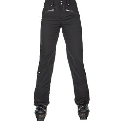 Spyder ME Tailored Fit Short Womens Ski Pants (Previous Season), Black Tech Flannel, 256