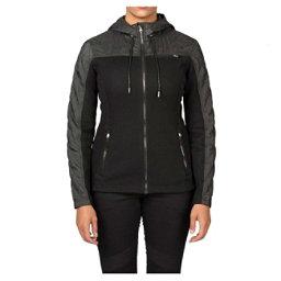 Spyder Core Ardour Mid Weight Womens Sweater (Previous Season), Black-Black Melange, 256