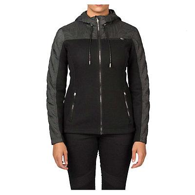 Spyder Core Ardour Mid Weight Womens Sweater (Previous Season), Black-Black Melange, viewer