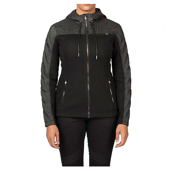 Spyder Core Ardour Mid Weight Womens Sweater (Previous Season), Black-Black Melange, 600