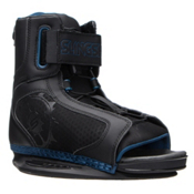 Slingshot Option Wakeboard Bindings, Black-Blue, medium