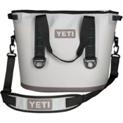 YETI Hopper 30, Fog Gray-Tahoe Blue, medium