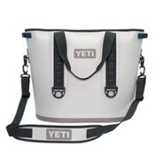 YETI Hopper 40, Fog Gray-Tahoe Blue, medium