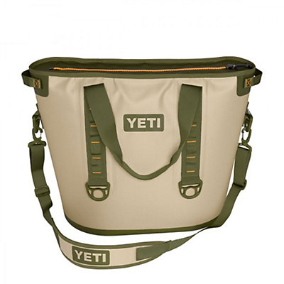 YETI Hopper 40 2017, Fog Gray-Tahoe Blue, viewer