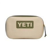 YETI Hopper Sidekick Storage Bag, Field Tan-Blaze Orange, medium