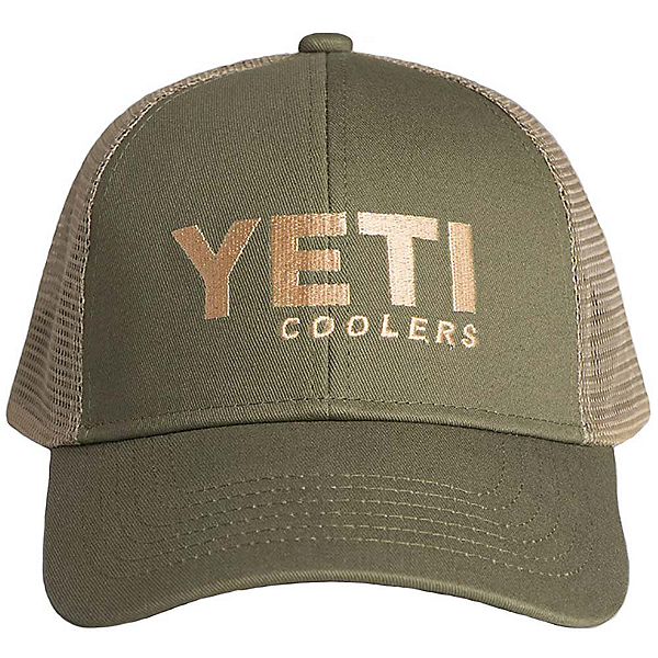 YETI Traditional Trucker Hat, Olive, 600
