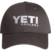 YETI Coolers Low Profile Full Panel Hat, Gunmetal Gray, medium