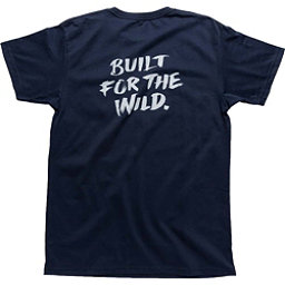 YETI Built For The Wild Pocket Tee Mens T-Shirt, Navy, 256
