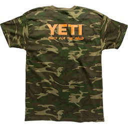 YETI Built For The Wild Pocket Tee Mens T-Shirt, Camo, 256
