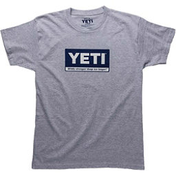 YETI Billboard Tee Mens T-Shirt, Gray, 256