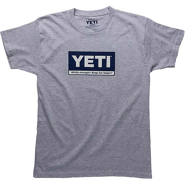 YETI Billboard Tee Mens T-Shirt, Gray, 600