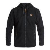 Quiksilver Into The Wild Zip-Up Fleece Mens Hoodie, , medium