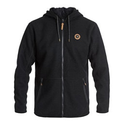 Quiksilver Into The Wild Zip-Up Fleece Mens Hoodie, , 256