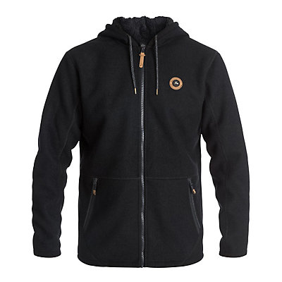Quiksilver Into The Wild Zip-Up Fleece Mens Hoodie, , viewer
