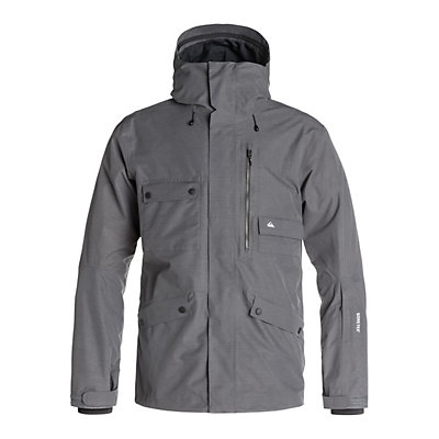 Quiksilver Northwood 2L GORE-TEX Mens Shell Snowboard Jacket, Iron Gate, viewer