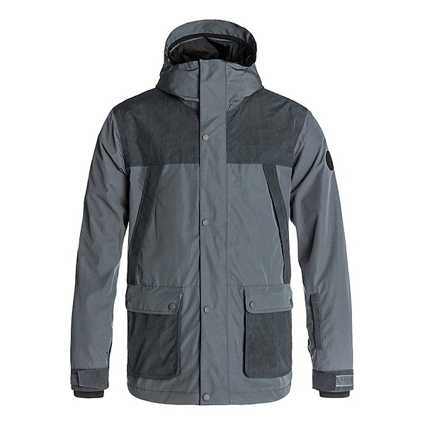 Quiksilver Fact 10K Mens Insulated Snowboard Jacket, , 600