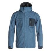 Quiksilver Illusion Mens Shell Snowboard Jacket, , medium