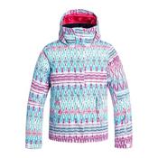 Roxy Jetty Girls Snowboard Jacket, Dixie-Hawaiian Ocean, medium