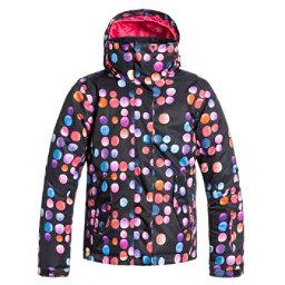 Roxy Jetty Girls Snowboard Jacket, Cosmic Dots, 256