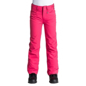 Roxy Backyard Girls Snowboard Pants, Azalea, medium