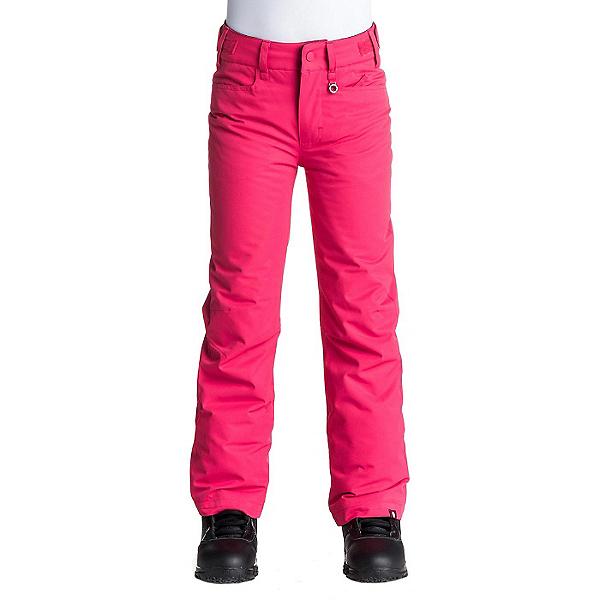 Roxy Backyard Girls Snowboard Pants, Azalea, 600