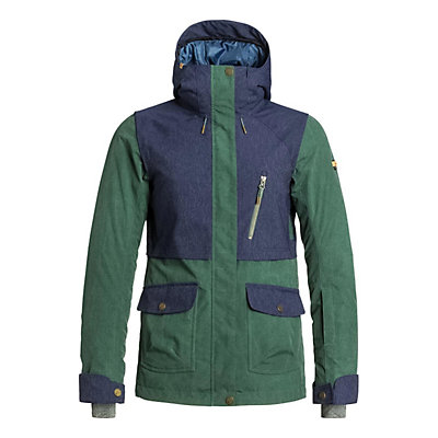Roxy Tribe Womens Insulated Snowboard Jacket, , viewer