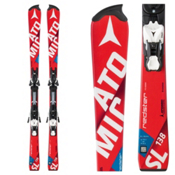 Atomic Redster FIS SL Junior Race Skis with XTO 12 Race Bindings, , medium