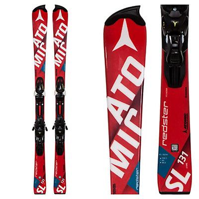 Atomic Redster FIS Jr. SL Junior Race Skis with XTL 7 Bindings, , viewer