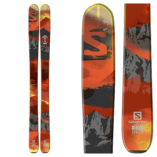 Salomon Q-98 Skis, , 600