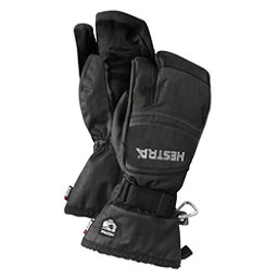 Hestra CZone Mountain 3 Finger Gloves, Charcoal-Black, 256